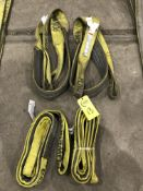 (4) Nylon Lifting Slings