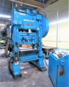 Minster 60 Ton Piece-Maker Variable Speed Straight Side Stamping Press Model P2-60-36, Sn P2-60-