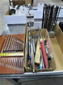 Misc. Broaches And Long Drill Bits