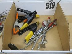 Hand Clamps And Extendable Mirrors
