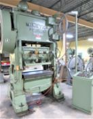 Minster 75 Ton Piece-Maker Variable Speed Straight Side Stamping Press Model P2-75-42, Sn P2-75-