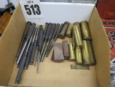 Lot Of Misc. Punches And Brass Punches