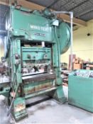 """Minster 100 Ton Piece-Maker Variable Speed Stamping Press Model P2-100-48, Sn P2-100-23653 48"""" x 31"""""""
