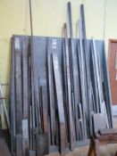 Wood Rack With Tool Room Stock, Low Carbon Steel