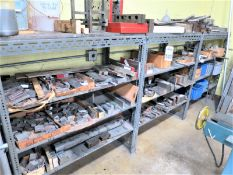 Rack With Contents, Tool Room Stock, soft tool steel and low carbon steel