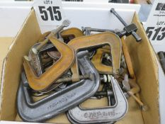 Misc. 'C' Clamps