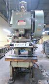 "Minster #6 60 Ton Variable Speed OBI Punch Press Sn 6-20156 32"" x 21"" Bolster 45-90 Strokes Per"