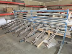 Panel Clamp Model 79B6 12' Table with approx. (30) clamps
