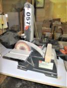 """Dayton Model 1FYV5 4 x 6"""" Belt and Disc Sander"""
