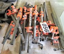approx. (16) assorted clamps