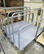 (2) Lumber Carts