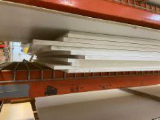 (22) sheets of Sentra, plexiglass, and polycarbonate