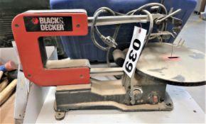 "Black and Decker Model BDSS100 16"" Scroll Saw"