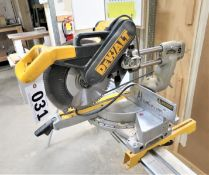 "Dewalt Model DW708 12"" Compound Double Bevel Miter Saw"