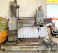 "21"" X 84"" HEAVY DUTY RADIAL ARM DRILL PRESS"