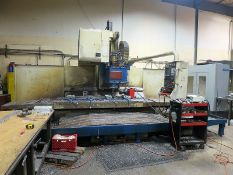 2005 FEMCO VMC-21100 GEARED HEAD CNC VERTICAL MACHINING CENTER, S/N 035252