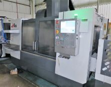 Haas VF-4SS 3-Axis Precision CNC Vertical Machining Center, S/N 1091970, New 2012