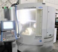 Mikron HSM-400U High Speed 5-Axis CNC Vertical Machining Center, S/N 107.87.00.185, New 2007