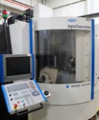 Mikron HSM-400U High Speed 5-Axis CNC Vertical Machining Center, S/N 107.87.00.217, New 2008
