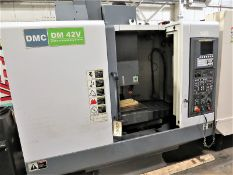 DMC DM 42V 3-Axis CNC Vertical Machining Center, S/N 4250026, New 2013