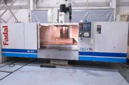 Fadal VMC 8030-HT CNC 3-Axis Vertical Machining Center, S/N 012004076614, New 2004