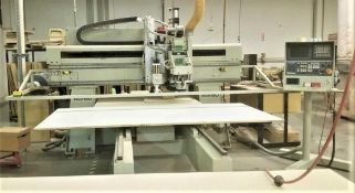 SOLD BY MAKE OFFER 5'X8' Komo Model VR508 Mach II 3-Axis CNC Router, S/N 369450-03-01-01, New 2001