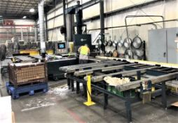 "8""x24"" Granco Clark Precision Saw for High Accuracy Aluminum Extrusion Cutoff, S/N 13446, New 2003"