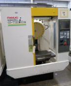 Fanuc Robodrill Alpha T21iDE 3-Axis Vertical High Speed Drill Tap Machining Center, S/N P048UR890