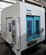 Brother TC32A CNC Drill Tap Center w/Pallet Changer, S/N 111123, New 2000