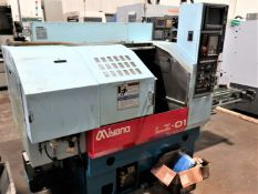 SOLD SOLD SOLDMiyano LZ-01 2-Axis Turning Center w/Auto Load/Unload System, S/N LZ010191, New 2000