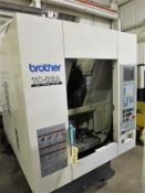Brother TC-R2A CNC Drill/Tap Vertical Machining Center w/Pallet Changer, S/N 111858, New 2006