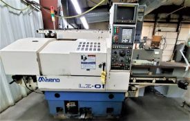 Miyano Model LZ-01 2-Axis Turning Center w/Auto Load/Unload System, S/N LZ010223, New 2001
