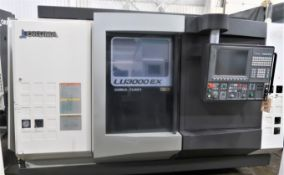 SOLD SOLD SOLD Okuma LU3000EX II 4-Axis CNC Turning Center Lathe, S/N 174256, New 2013