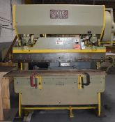Chicago Dreis & Krump 30 Ton Manual Press Brake, Model 56A