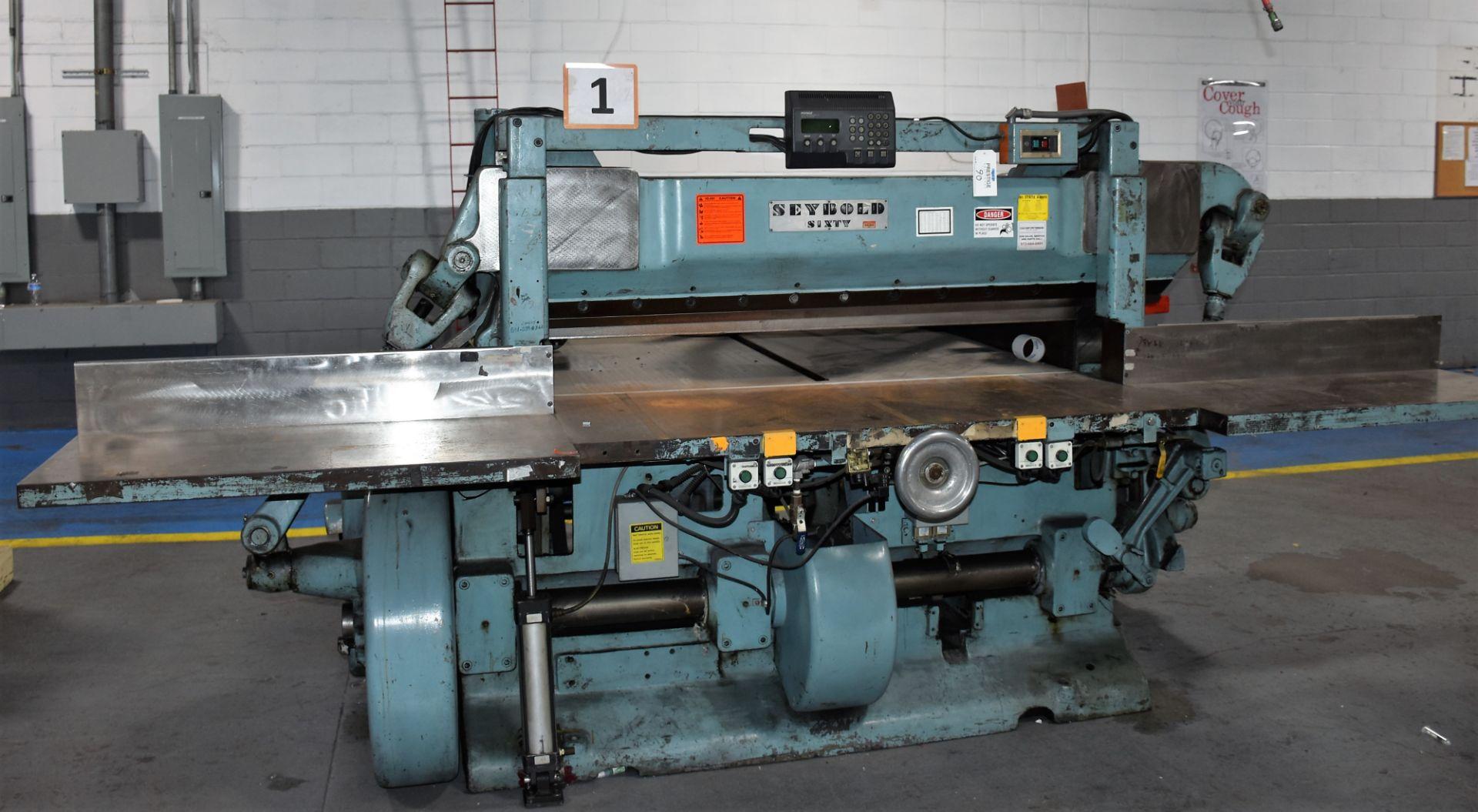 Seybold Paper Cutter, S-64