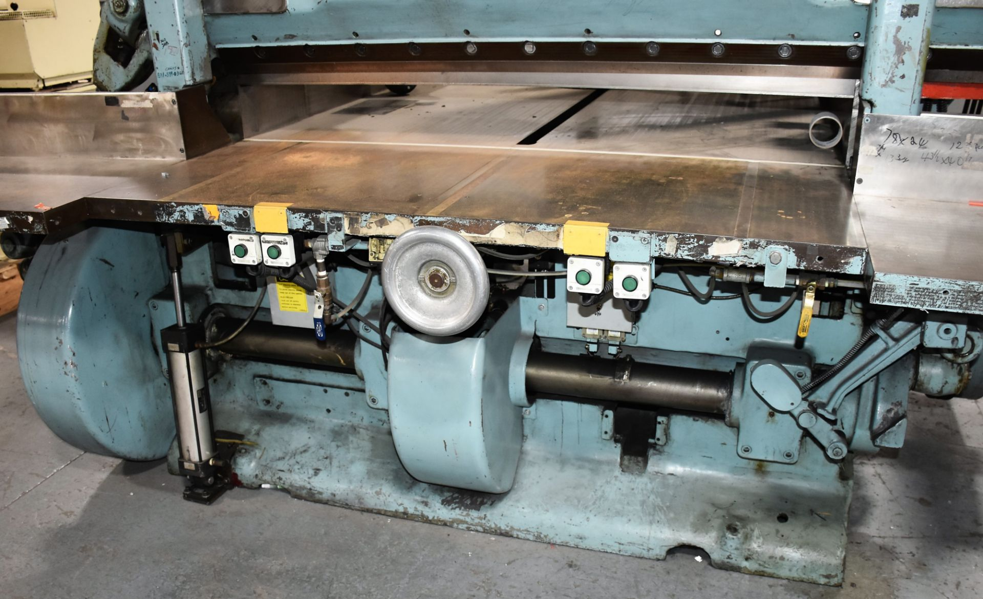 Seybold Paper Cutter, S-64 - Image 4 of 8