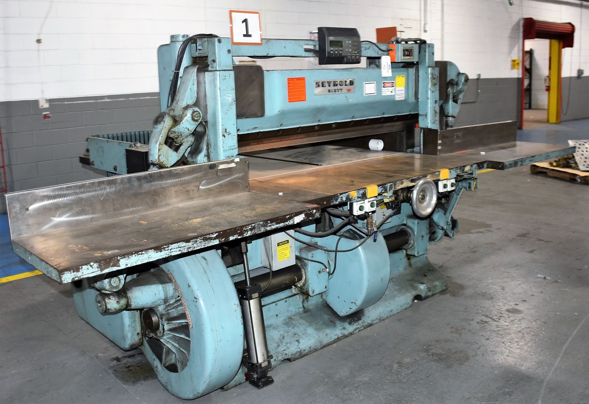 Seybold Paper Cutter, S-64 - Image 2 of 8