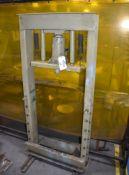30 Ton Carolina Tool & Equipment H-Frame Press, Model CP100