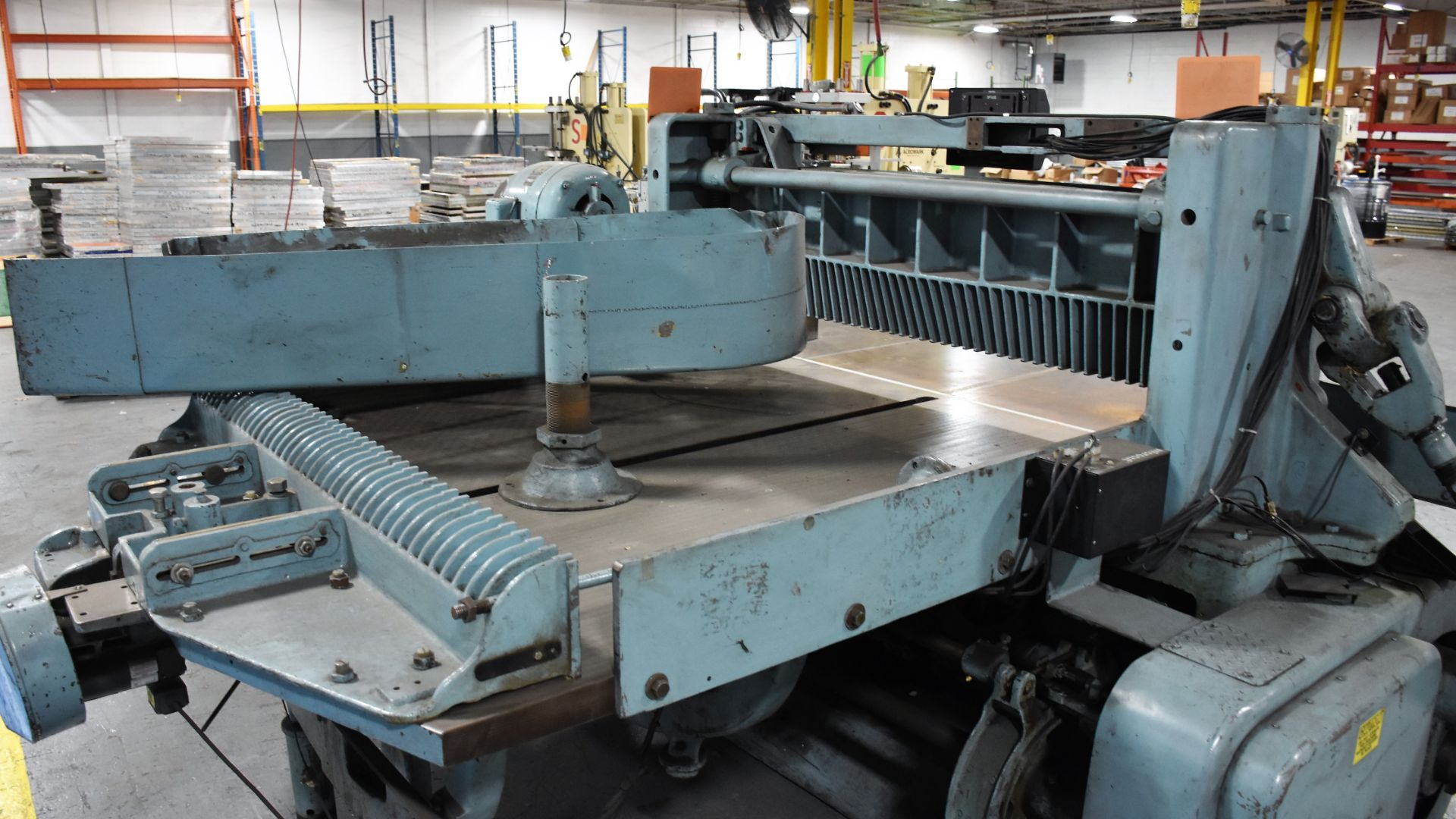 Seybold Paper Cutter, S-64 - Image 5 of 8