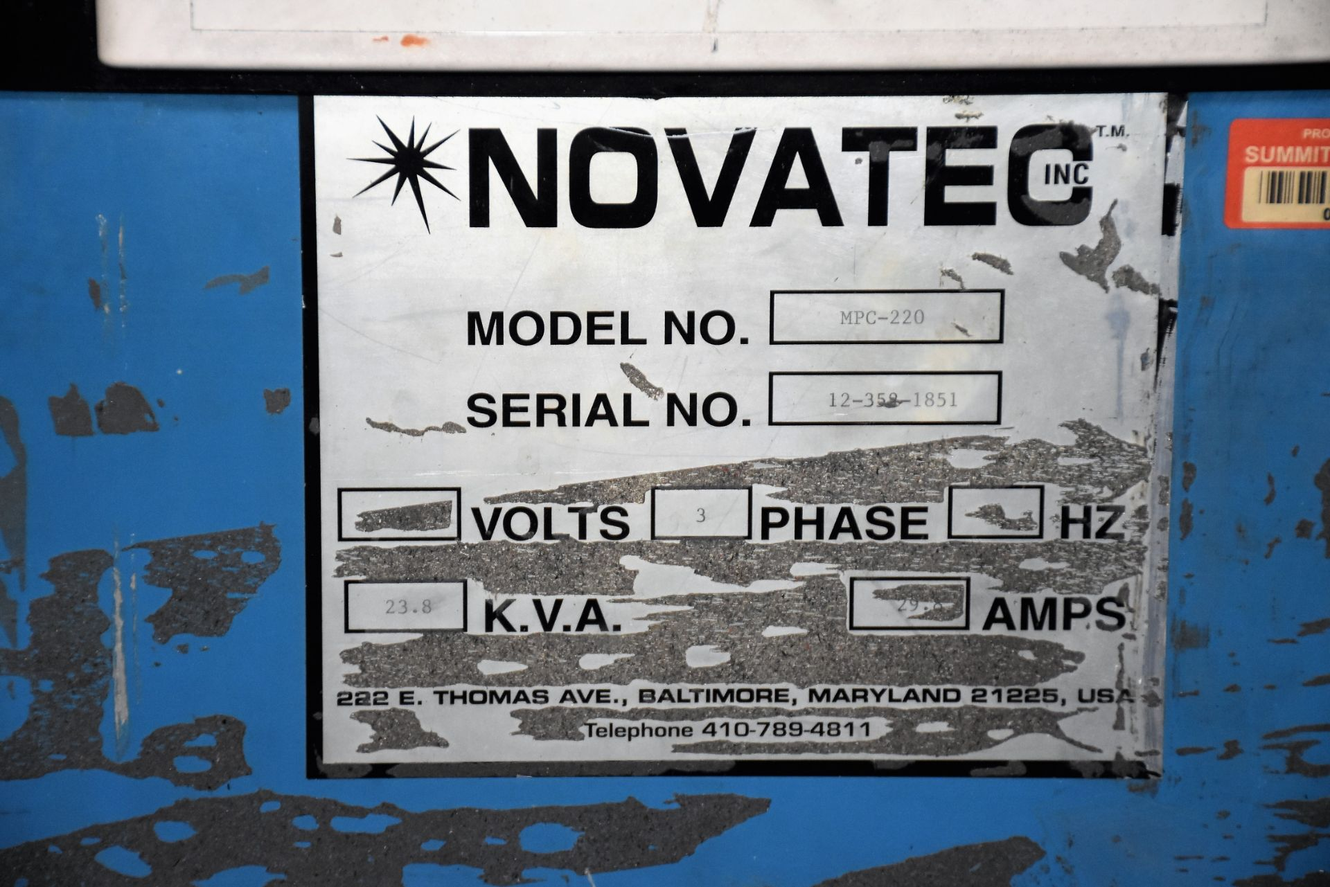 Novatec Vacum & Dryer, NPC-220 - Image 4 of 4