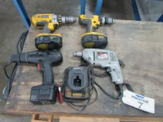 (4) Electric Power Tools