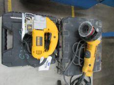 (2) Dewalt Electric Power Tools