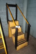 4-Step Poly Staircase, 500 Lb. Capacity