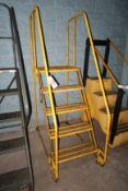 Cotterman Tilt N Roll 5-Step Portable Staircase