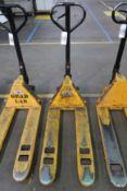 Uline Pallet Jack, 5,500 Lb. Capacity, Model H-1366