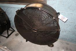 """36"""" Drum Fan, Blackhawk"""