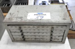 Huot Style Numeric 5-Drawer Drill Cabinet with Drill Contents, (Bldg 1)