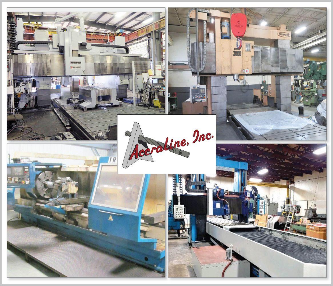Accraline, Inc. - DAY 1 - Large Capacity Machining Facility