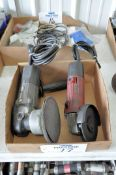 Lot-(1) Porter Cable and (1) No Name Electric Angle Grinders in (1) Box, (Bldg 1)