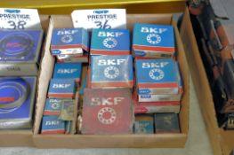 Lot-SKF Bearings in (1) Box, (Bldg 1)